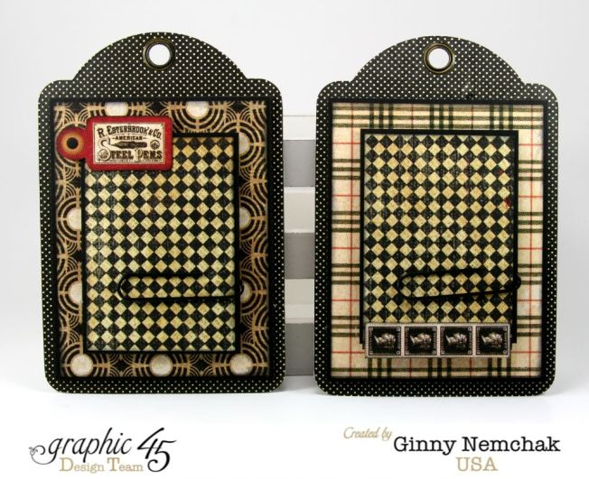 Commuique Box With Tags Graphic 45 Ginny Nemchak Communique 8