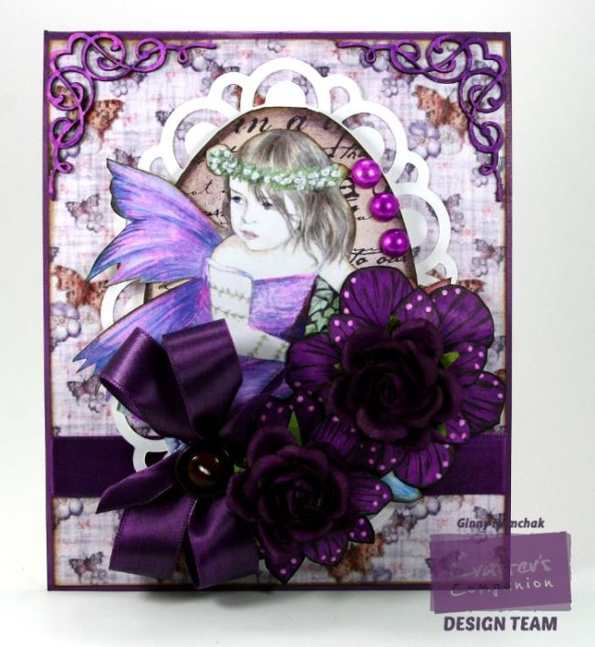 Purple Fairy Card 1