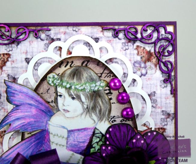 Purple Fairy Card 2