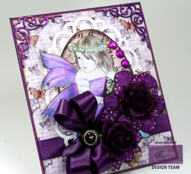 Purple Fairy Card 3