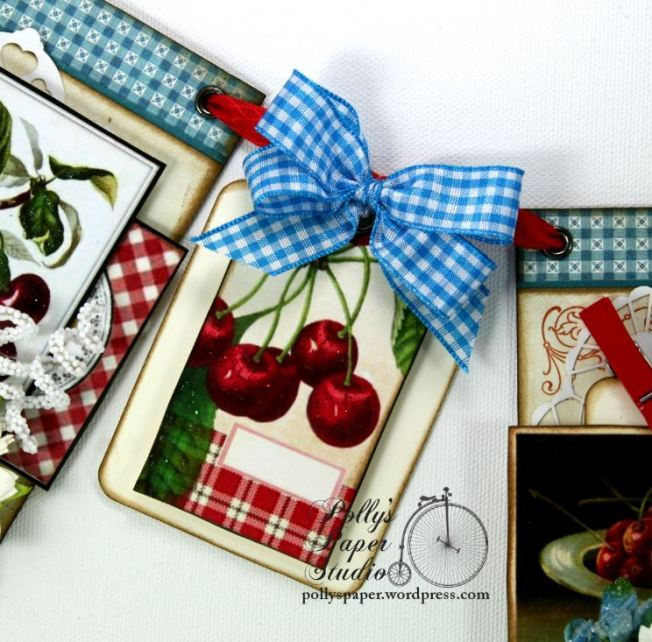 Summer Cherries Vintage Country Banner 3