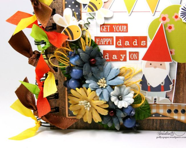 Get Your Happy Dads Day On Mini Album Petaloo Simple Stories 2