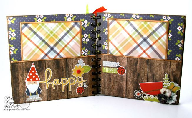Get Your Happy Dads Day On Mini Album Petaloo Simple Stories 7