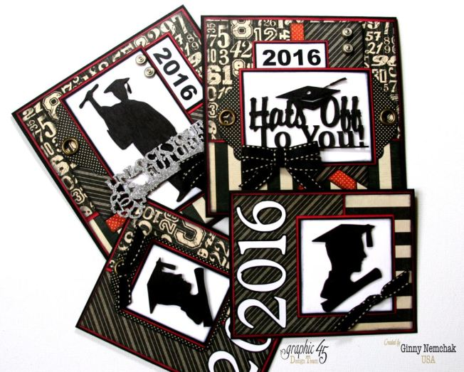 Graduation Cards 2016 Graphic 45   1