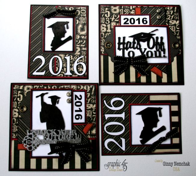 Graduation Cards 2016 Graphic 45   2