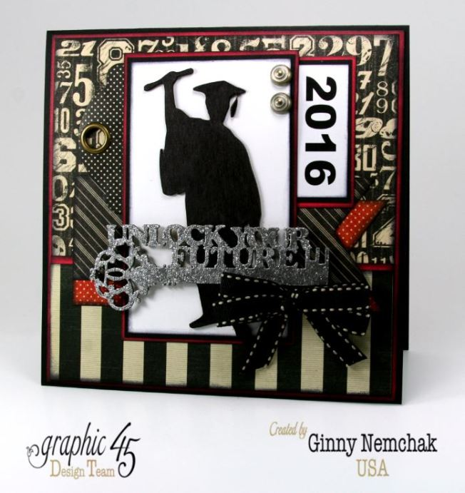 Graduation Cards 2016 Graphic 45   3