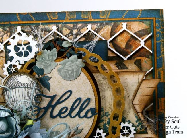 Hello Steampunk Greeting Card GSL BoBunny 5