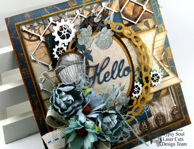 Hello Steampunk Greeting Card GSL BoBunny 6