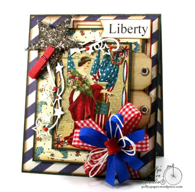 Liberty Patriotic Card 1