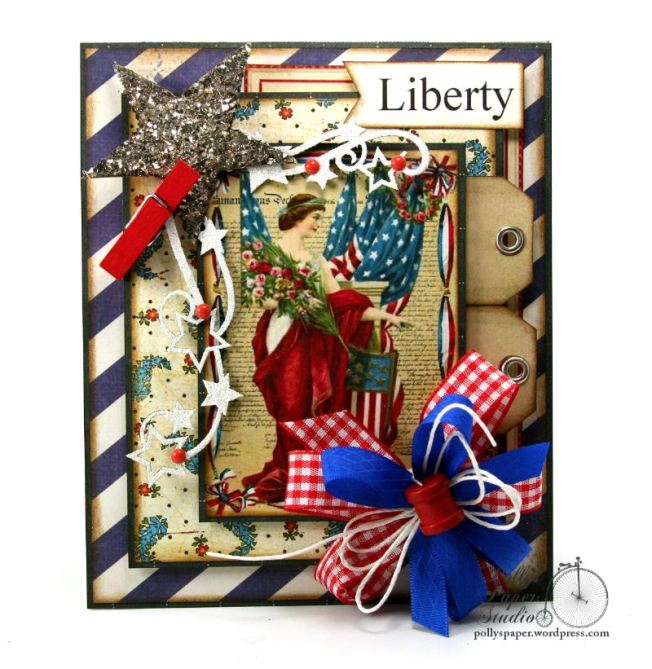 Liberty Patriotic Card 5