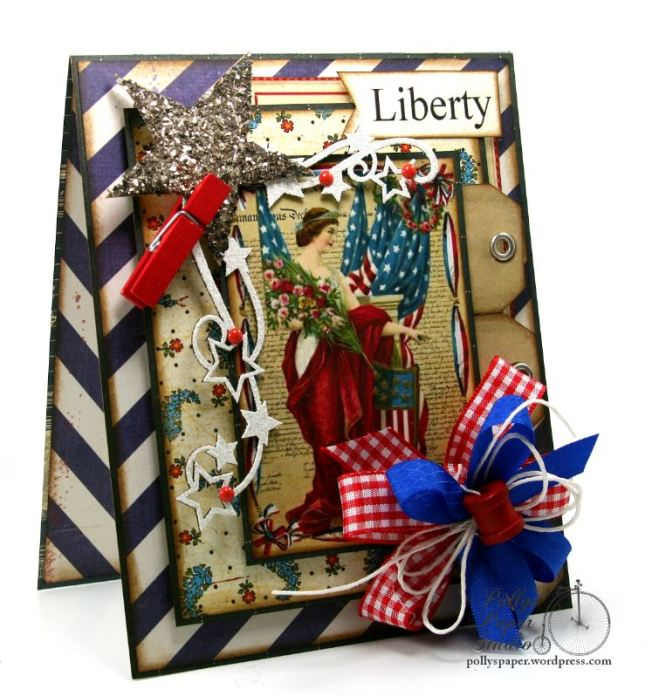Liberty Patriotic Card 6