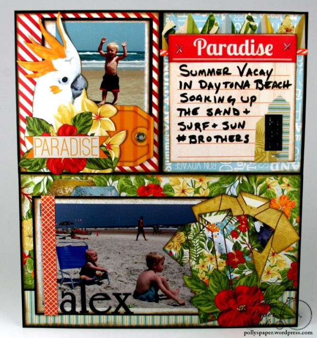 MiscMe Summer Vacay Layout 2