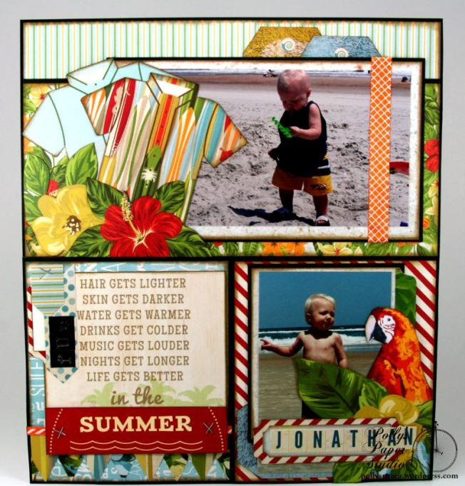 MiscMe Summer Vacay Layout 3