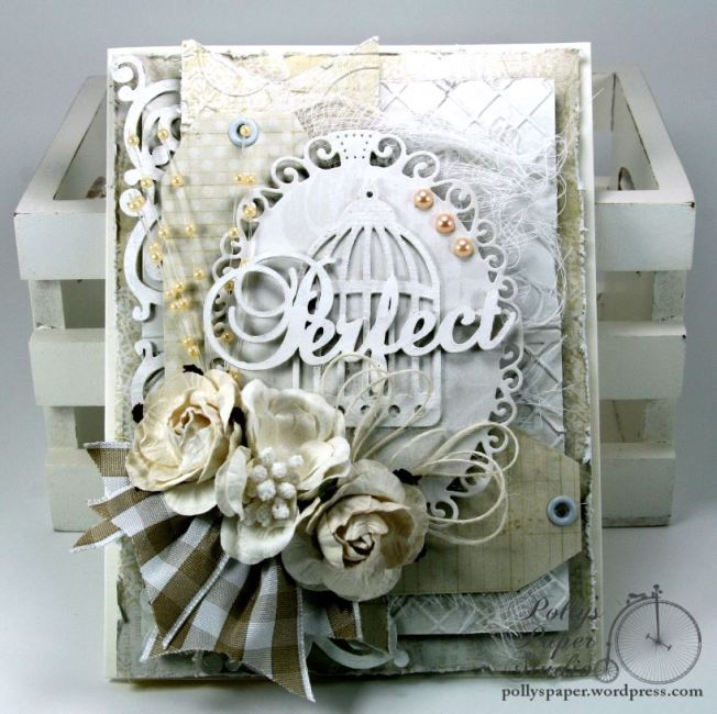 Perfect Shabby Chic Greeting Card 1