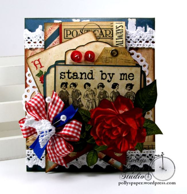 Stand By Me Card BoBunny Juliet 2