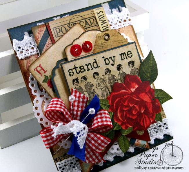 Stand By Me Card BoBunny Juliet 6