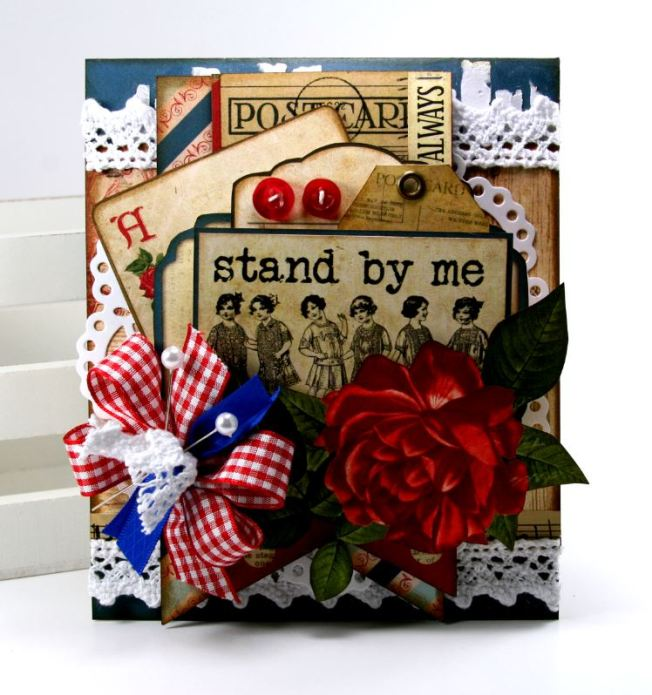 Stand By Me Card BoBunny `