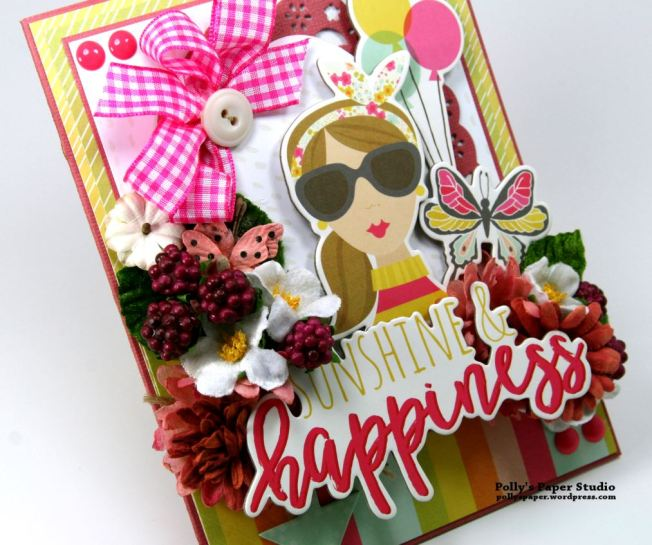Sunshine & Happiness Card Simple Stories Petaloo 4