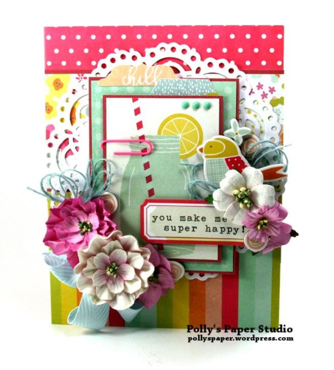 You make me Super Happy Greeting Card 1