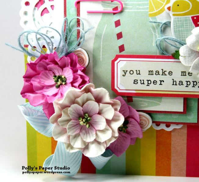 You make me Super Happy Greeting Card 2