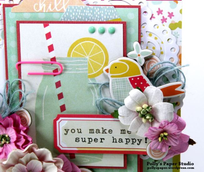 You make me Super Happy Greeting Card 3