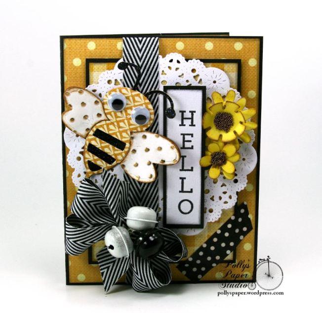 Hello Bee Card 1
