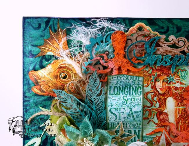 My Soul is Longing for the Sea Wall Hanging 2
