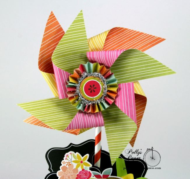 Summer Fun Pinwheel Peat Pot Topiary3