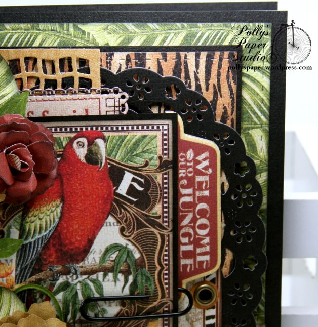 Welcome to The Jungle Greeting Card 4