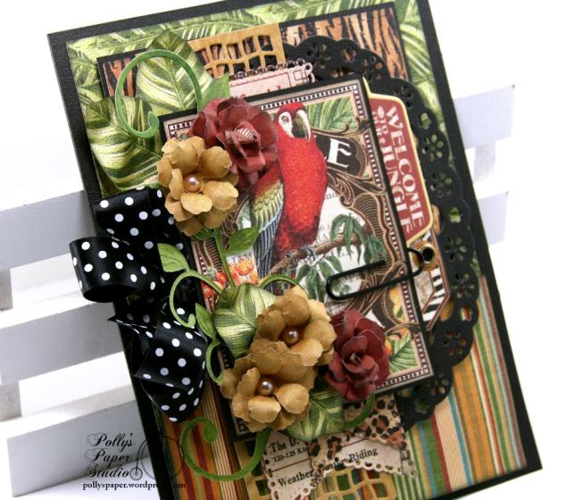 Welcome to The Jungle Greeting Card 5