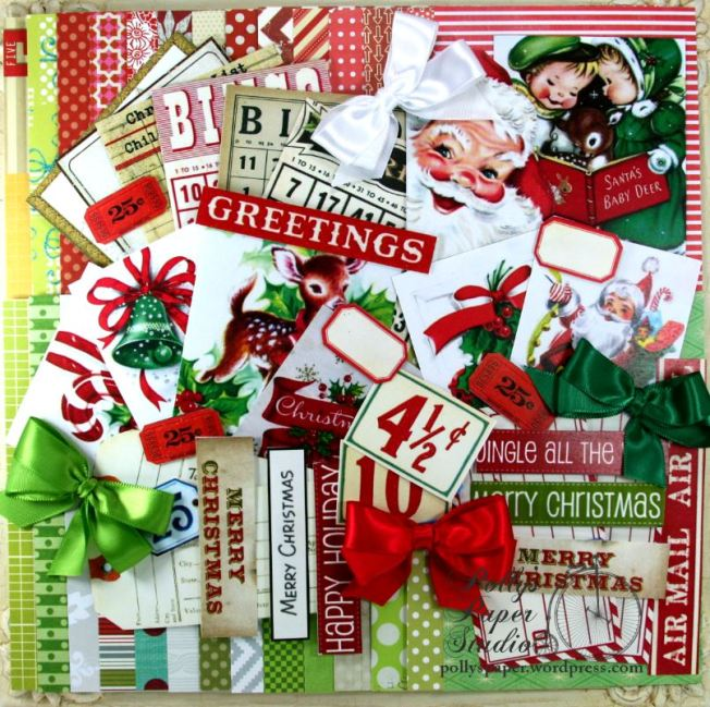 2016 Retro Christmas Creativity Kit 1