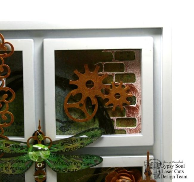 Dragonfly Wall Art Mixed Media 3