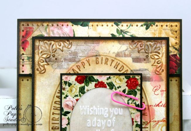 Embossed Birthday Card 3