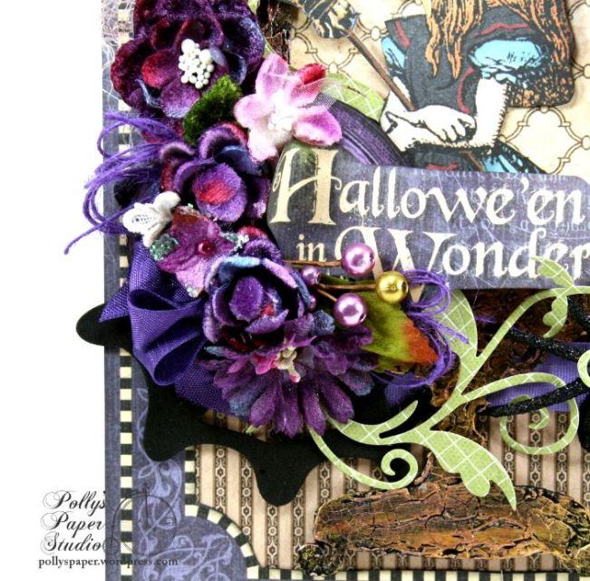 Halloween in Wonderland Wall Hanging 2