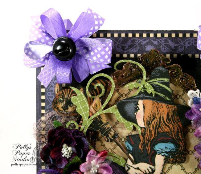 Halloween in Wonderland Wall Hanging 3