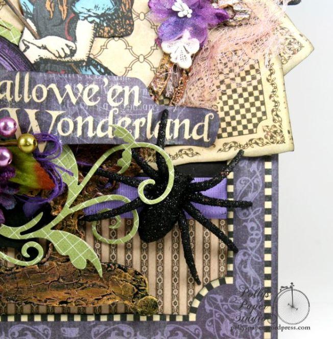 Halloween in Wonderland Wall Hanging 5