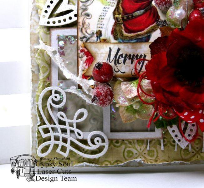 Merry Traditional Santa Card 4