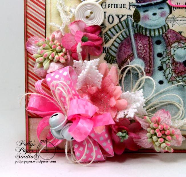 Pink Snowman Card 4