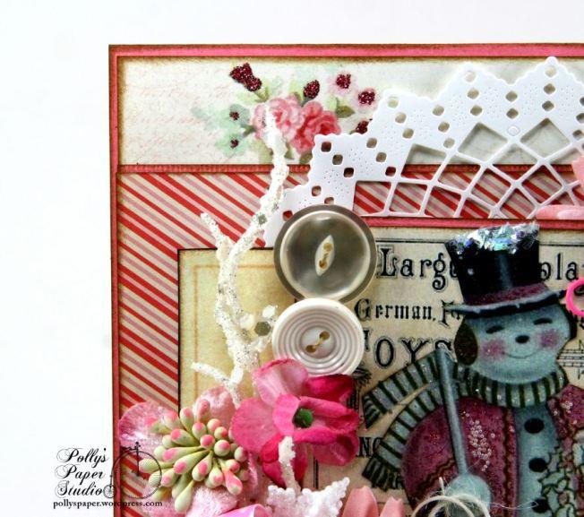 Pink Snowman Card 5