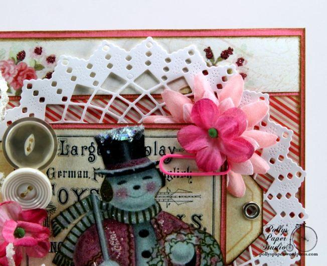 Pink Snowman Card 6