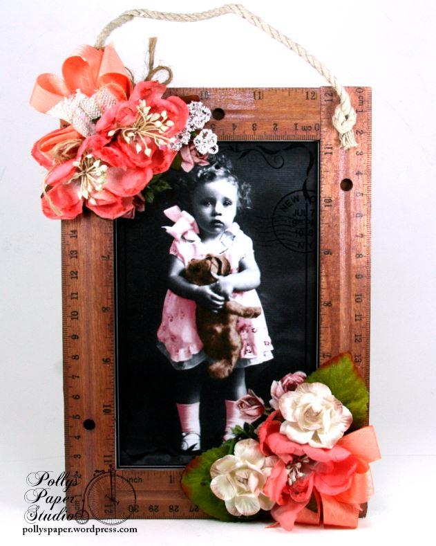 Ruler Frame Vintage Art 1
