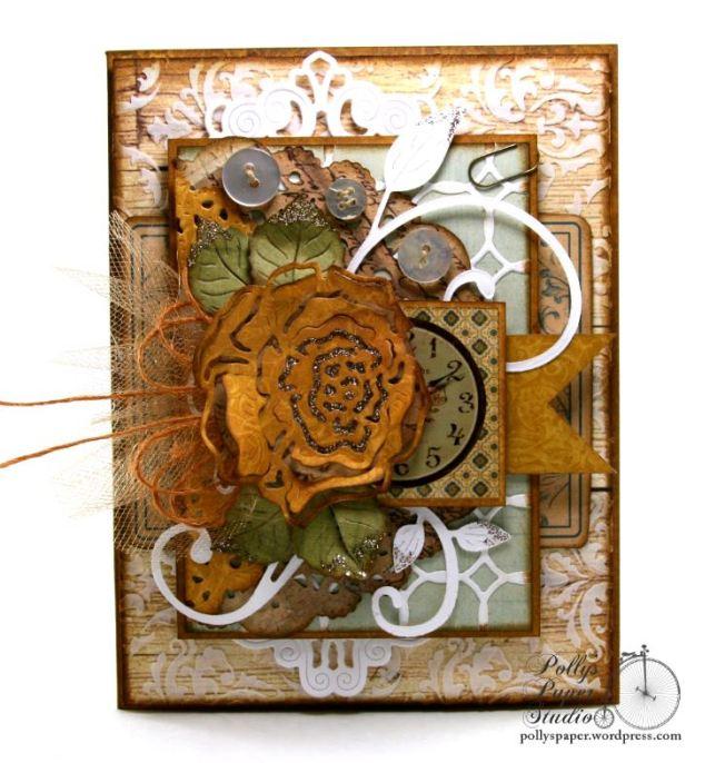 Yellow Rose Card 1