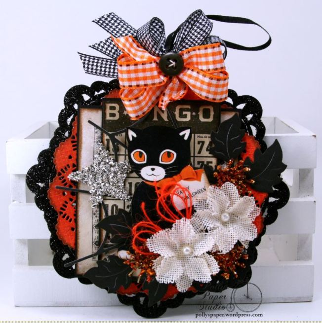 Bingo_Cat_Halloween_Wall_Hanging_Holiday_Decor_Polly's_Paper_studio_01