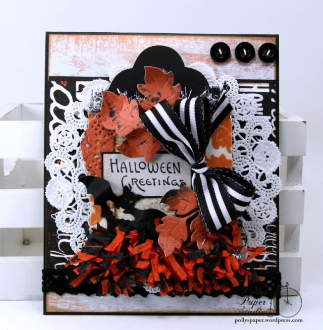 Halloween_Greeting_Card_Bat_Leaves_Polly's_Paper_Studio_Ginny_Nemchak_01