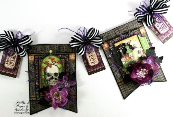 Delightfully_Sweet_Halloween_Banner_G45_Polly's_Paper_Studio_Ginny_Nemchak_Rare_Oddities_03