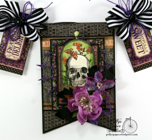 Delightfully_Sweet_Halloween_Banner_G45_Polly's_Paper_Studio_Ginny_Nemchak_Rare_Oddities_04