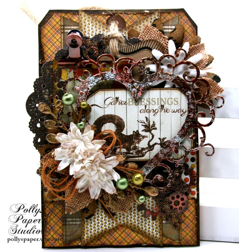 Gather Your Blessing Fall Tag Home Decor Polly Polly 39 S