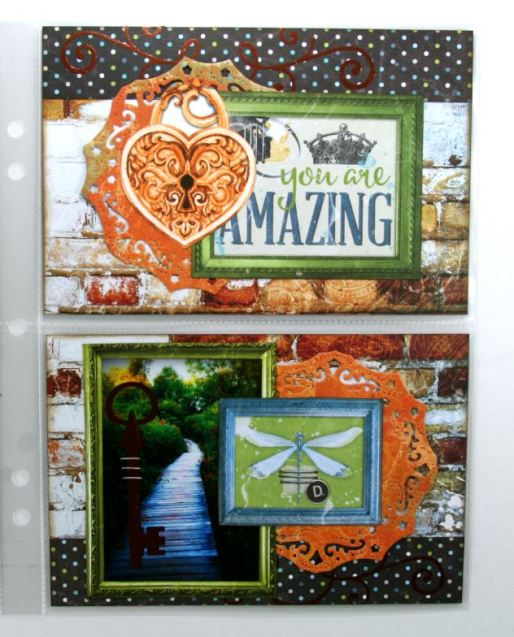This Great Adventure Misc Me Layout by Ginny Nemchak using BoBunny Life In Color