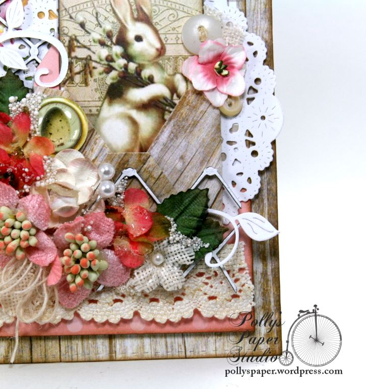 Shabby Chic Spring Easter Decor Polly S Paper Studio