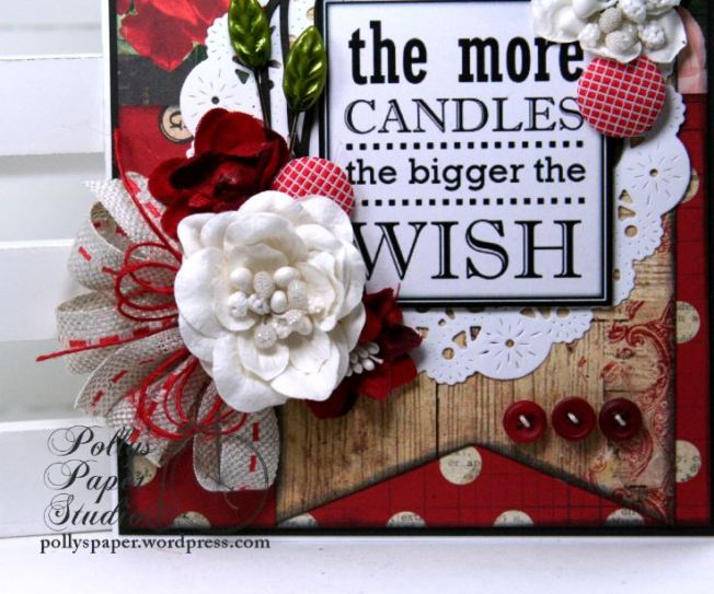 The More Candles Birthday Greeting Card Polly's Paper Studio 03